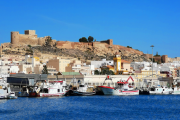Alcazaba from fishermen's harbour